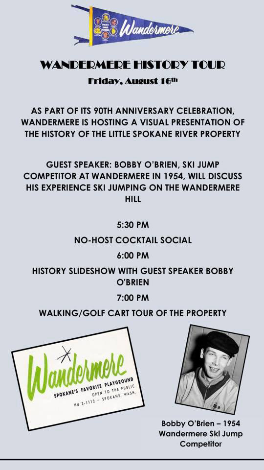 Wandermere's 90th Anniversary @ Wandermere Golf Course