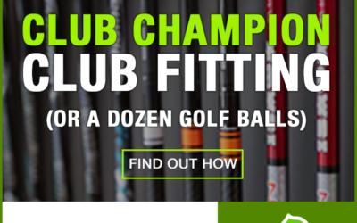 Win a Club Champion Club Fitting with WA Golf